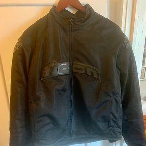 Motorcycle Jacket - Icon Stealth Hooligan Jacket